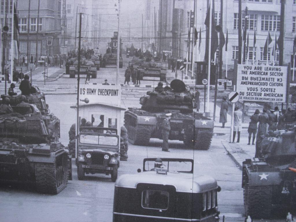 Marathon de Berlin Guerre froide