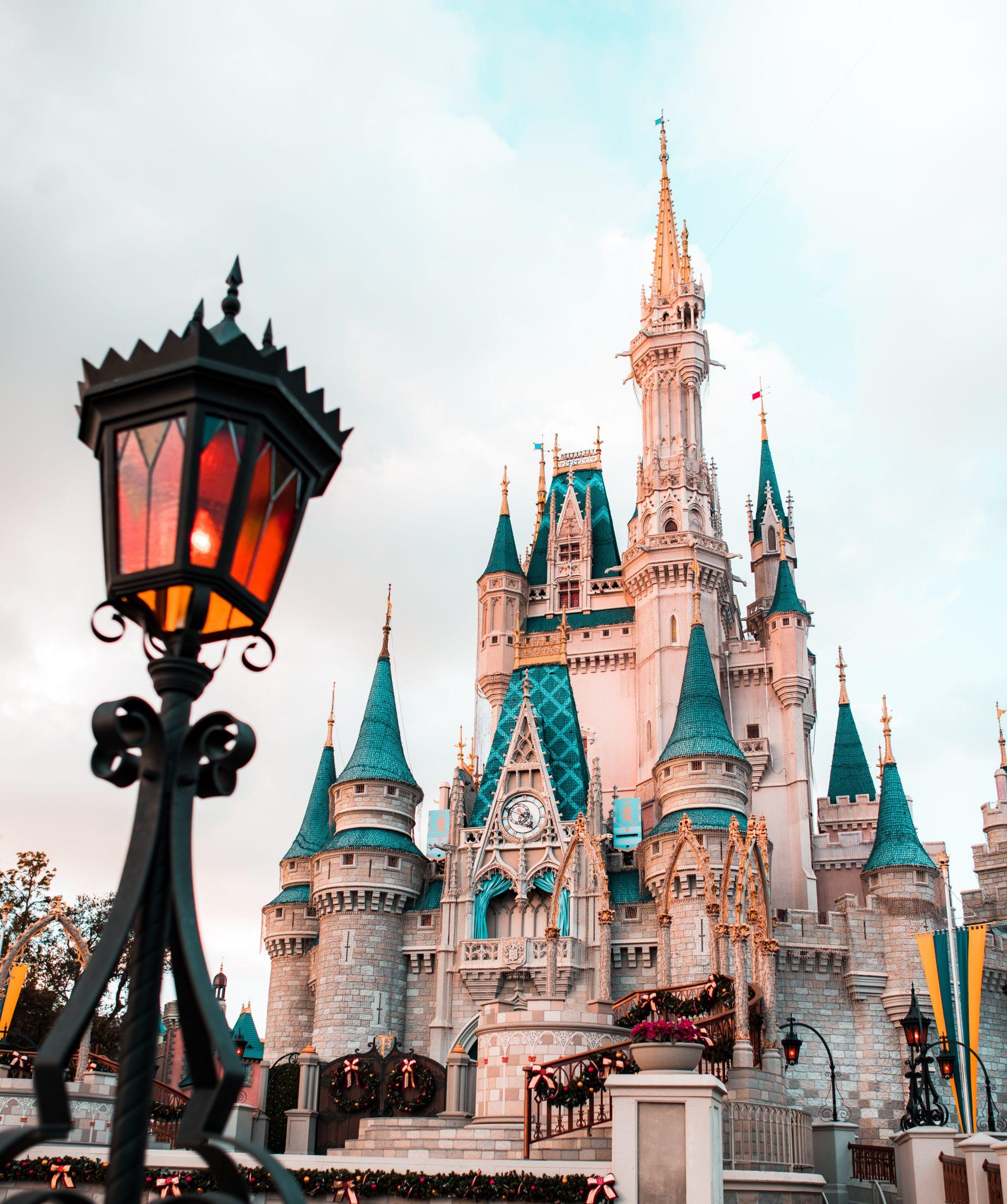 Le chateau de Disneyland Paris