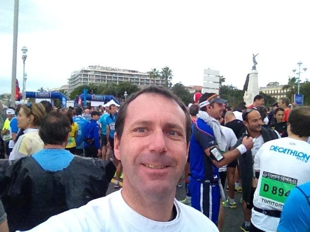 Le départ Marathon Nice Cannes