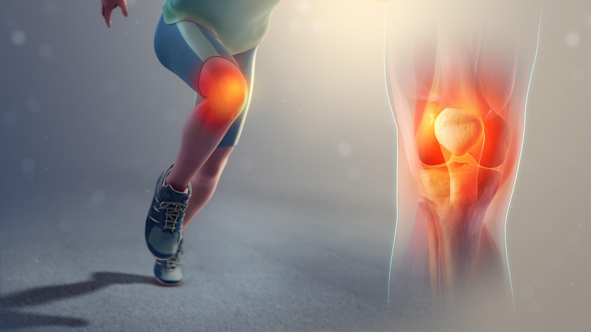 Comment continuer à s'entraîner en course à pied quand on a mal au genou ?