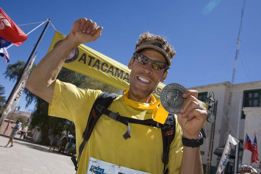 Ultra marathon man Dean Karnazes