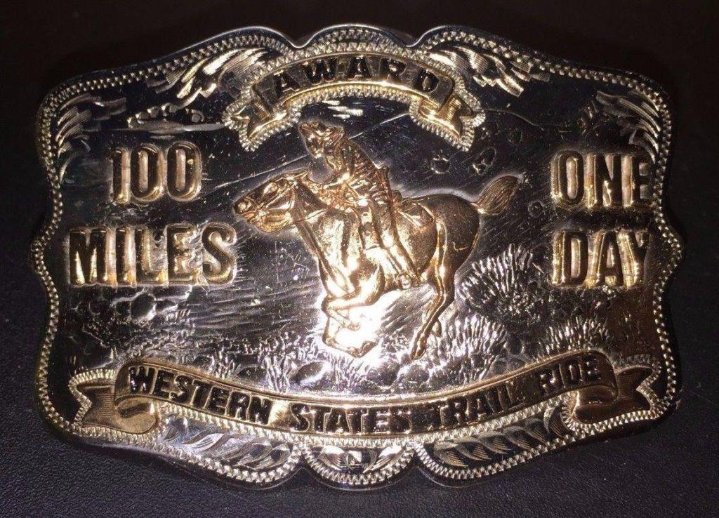 Boucle de ceinture Western States 100