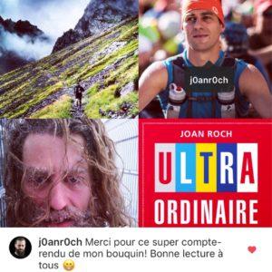 Message instagram Joan Roch