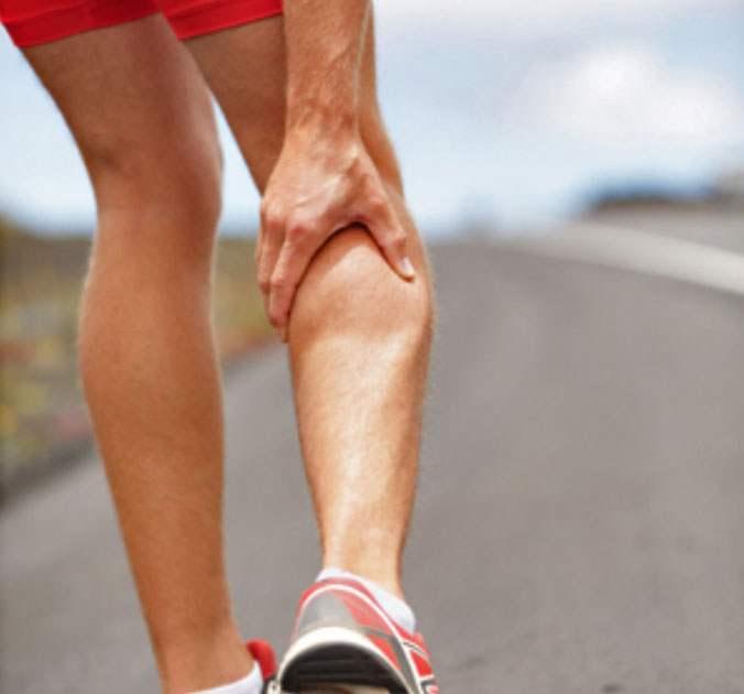 Courir pour les nuls crampe