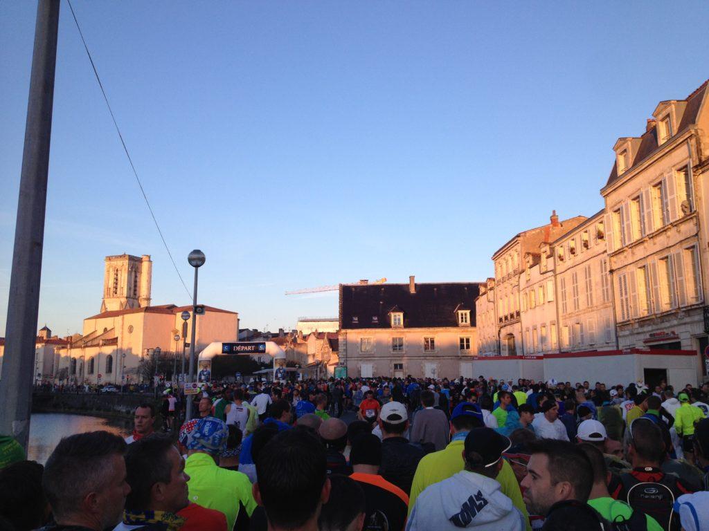 Départ du Marathon de La Rochelle