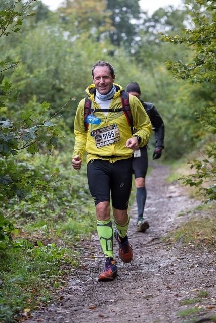 Course à pied trail running runner