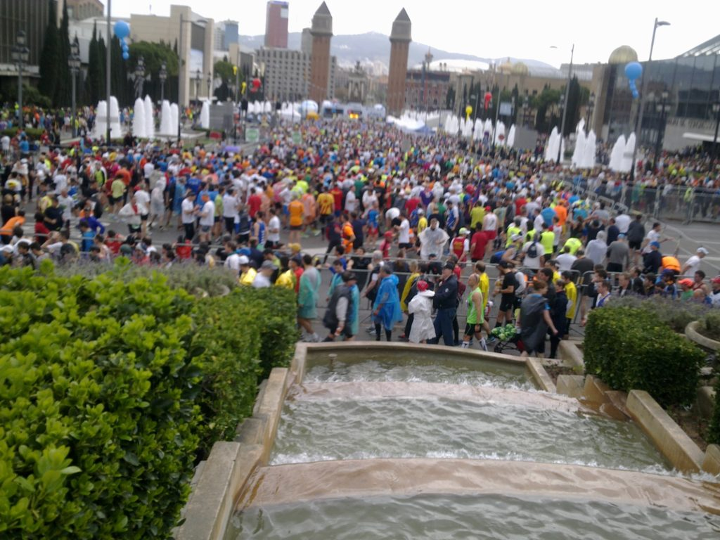 Départ Marathon Barcelona