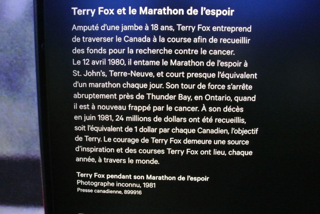 Terry Fox Marathon de l'espoir