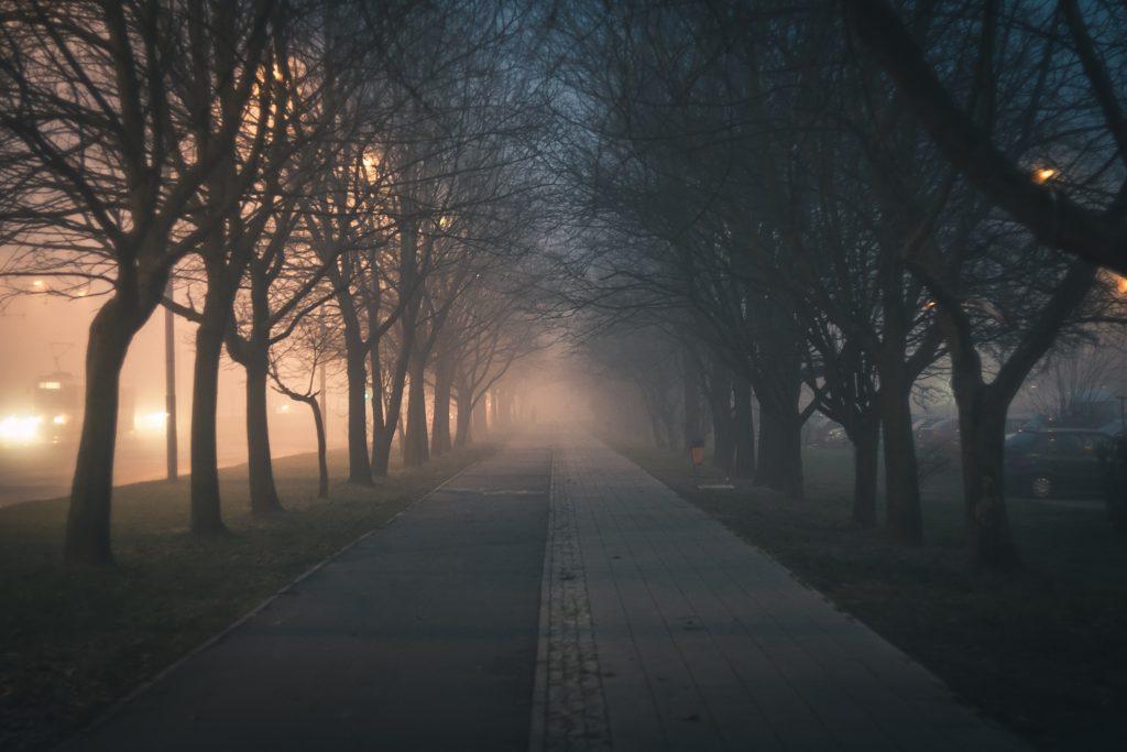 Courir dans la nuit
