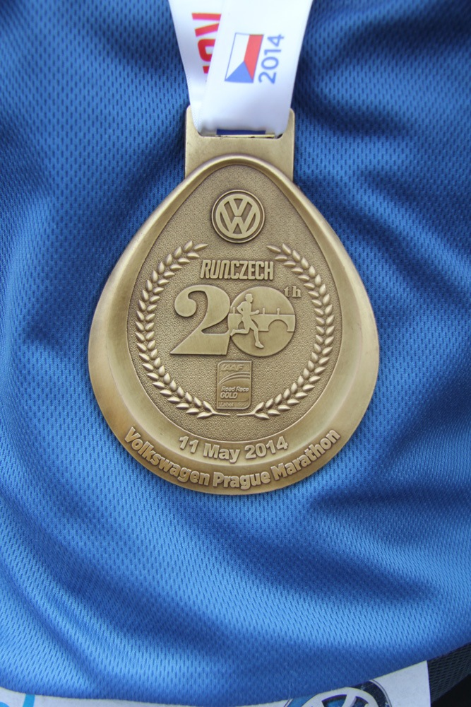 Finisher marathon